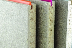 Tongue groove particle boards