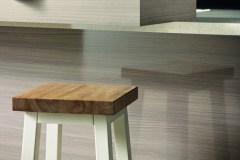 Kitchen, Wooden stool