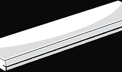 HardieDeck Edging Board 3d