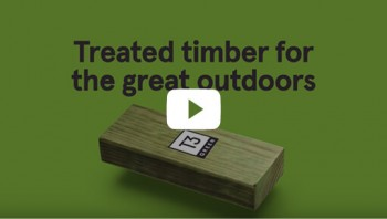 Timber for the Great Outdoors - Hyne Timber T3 Green