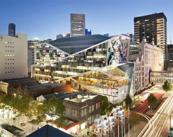Myer Emporium Melbourne Big River Building Products