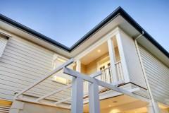 Double storey External Timber Cladding