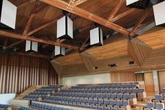 Wooden Beams in theatre