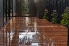 Decking in the rain