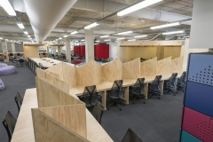 Plywood desks office library