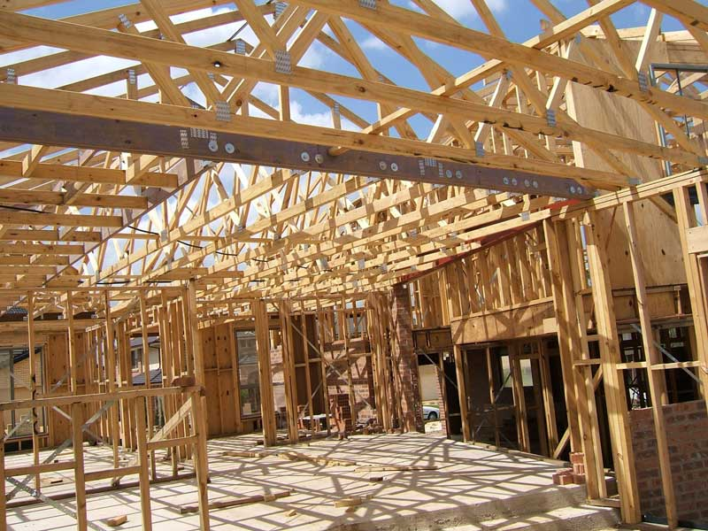 Timber Pine Framing for Wall frames & Roof truss frame webs