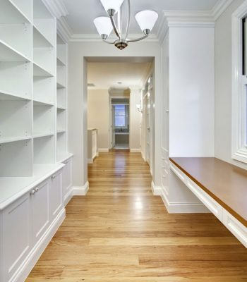 Beautiful Timber Mouldings hallway