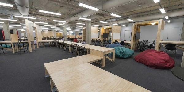 Timber desking