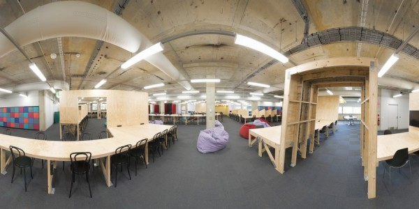 Panorama of collaborative learning space