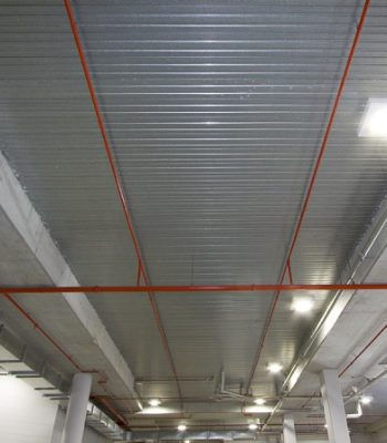 Steel Decking – Armourdeck ceiling
