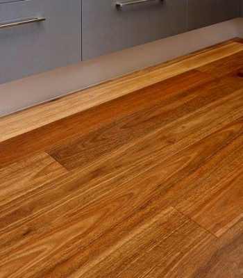 Big River timber floor in kitchen