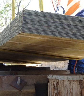 Sheets of pridge ply structural decking