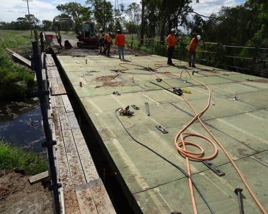 Structural Plywood Bridge Decking