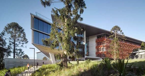 The University of Queensland's AEB building