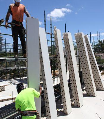 permawall installing wall