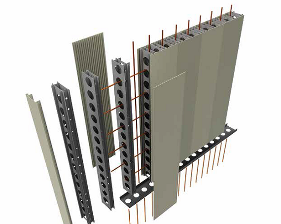 Permaform A Permanent Pvc Wall Formwork System