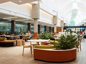 Brisbane airport concourse