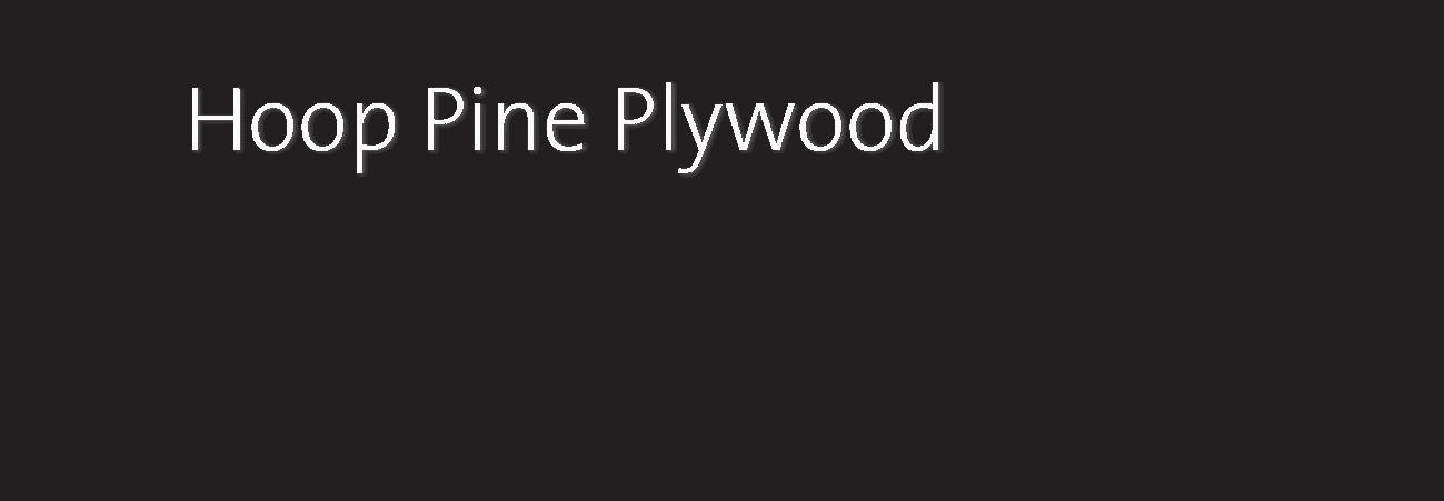 Hoop Pine Plywood